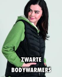 Zwarte bodywarmer
