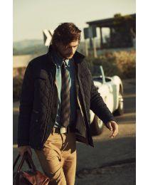 Gewatteerde jas, heren