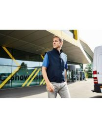 James & Nicholson Softshell bodywarmer heren