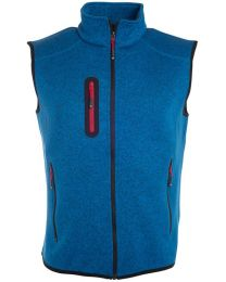 James & Nicholson Fleece Bodywarmer, heren.