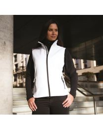 Result Core Printable Softshell Bodywarmer Dames