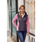 James & Nicholson Knitted Hybrid jacket Dames